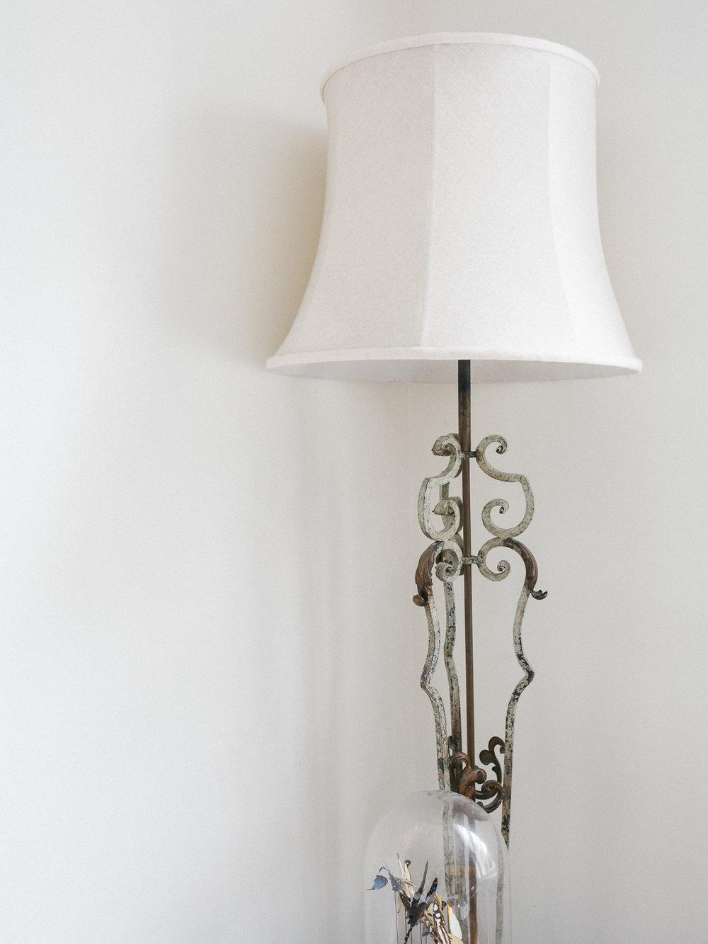 vintage lamp | Larkhall Place, Bath