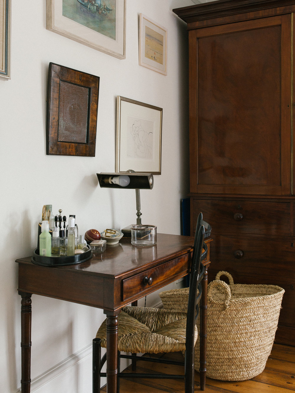 vanity corner | Larkhall Place, Bath