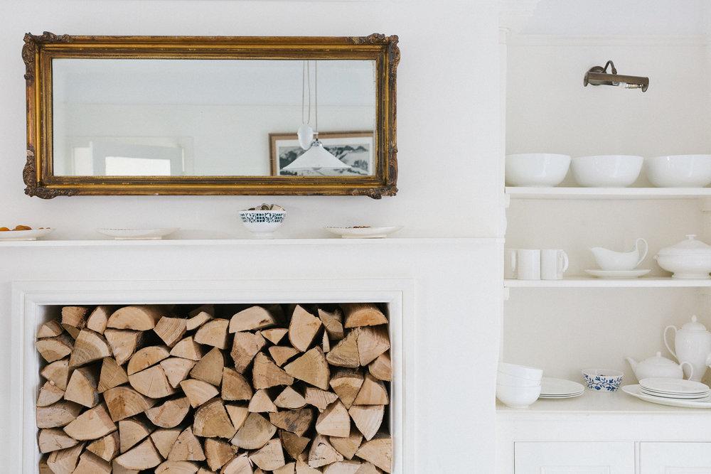 fireplace | Larkhall Place, Bath