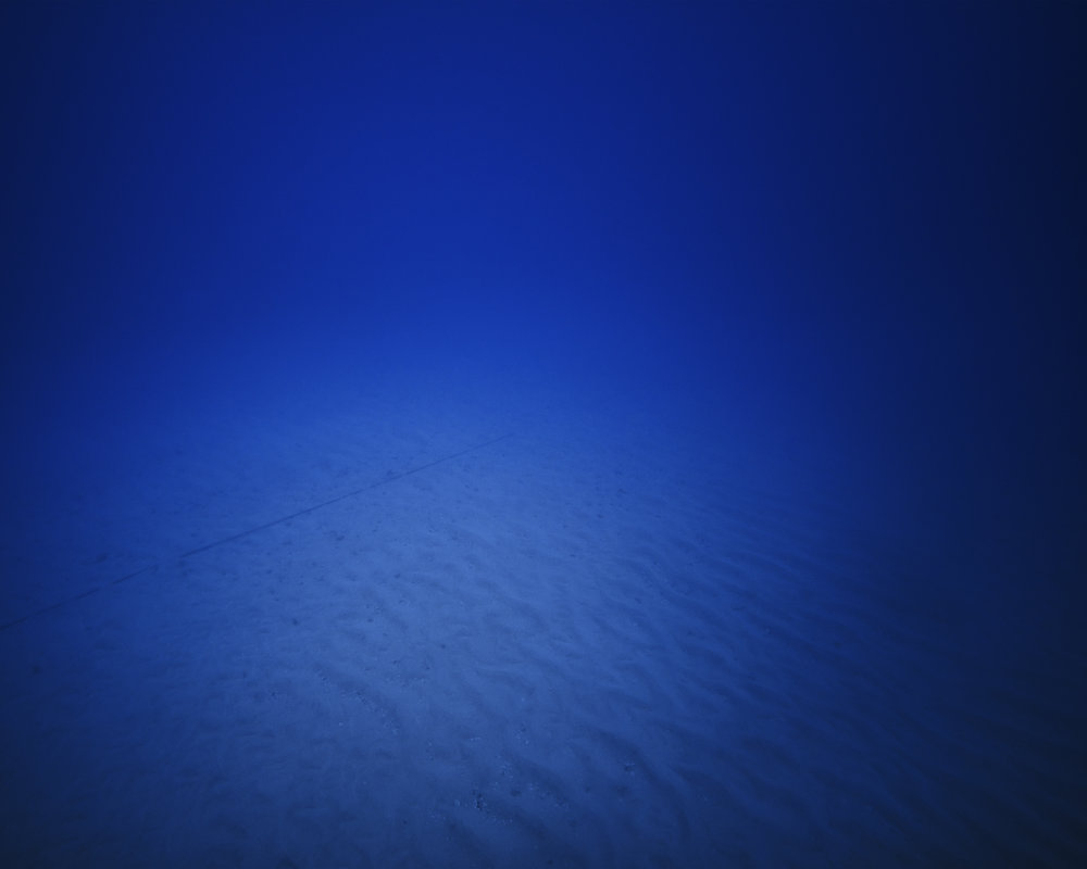 TREVOR PAGLEN | Japan-US Cable System, NSA/GCHQ - Tapped Undersea Cable, Pacific Ocean | 2016