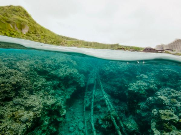 TREVOR PAGLEN | Under the Beach (Tumon Bay, Guam) | 2016