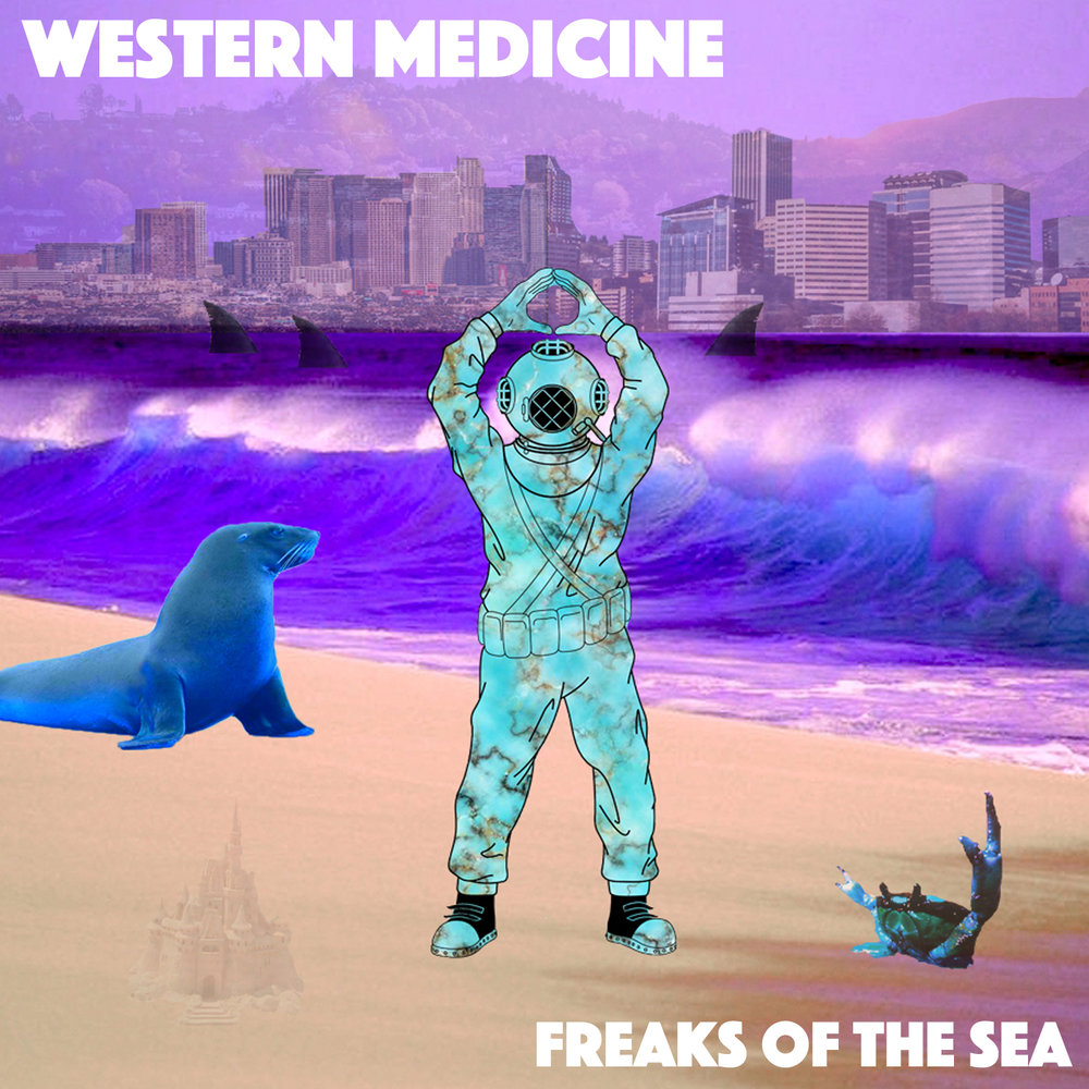 Freaks of the Sea officially released their 2nd EP, Western Medicine on 02.08.2018. It consists of a series of singles written and recorded throughout 2017.