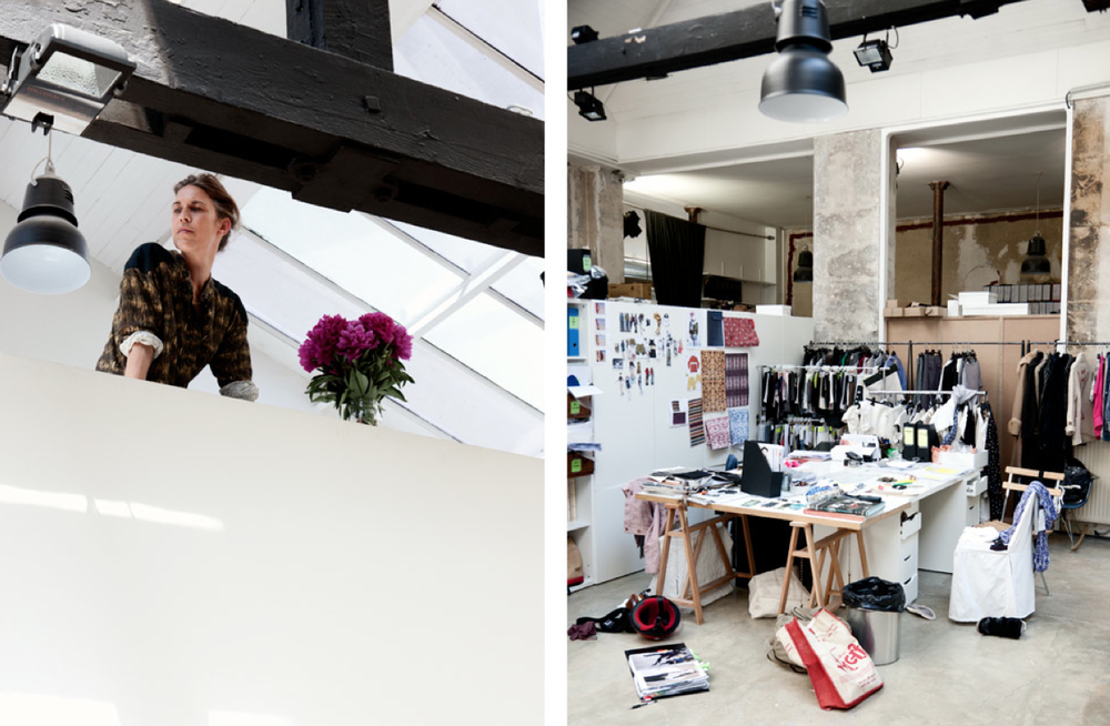Isabel Marant and Studio photographed by William Gentle