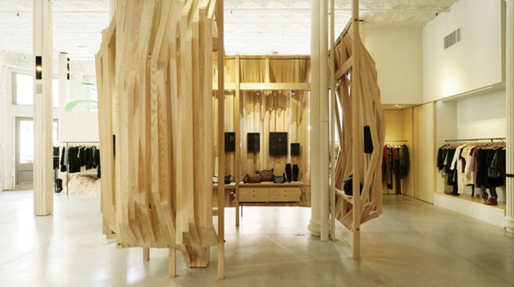 Isabel Marant Boutique,  New York.  Designed by Nicholas Andre