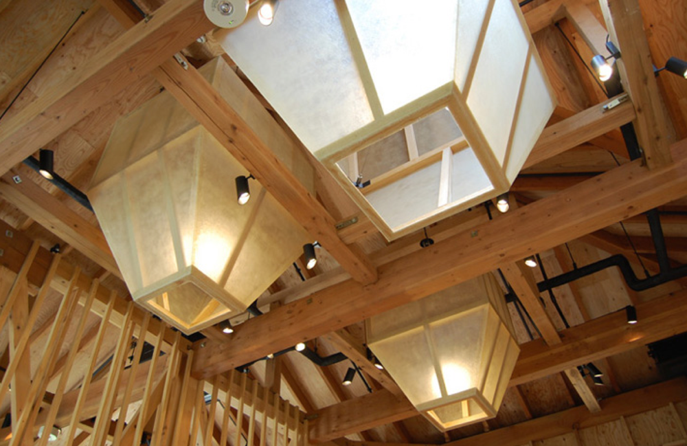 Detail of Ceiling and Skylight. Isabel Marant Boutique New York.  Designed by Nicholas Andre