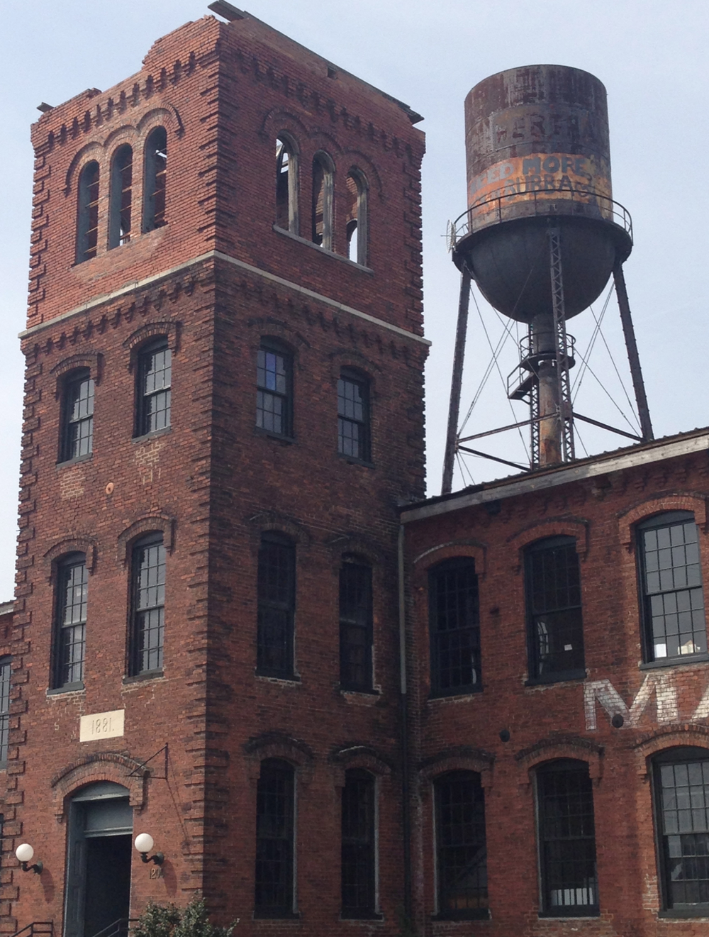 Marathon Motorworks. Built 1881. Now home to loads of studios and offices for Nashville's creative class. Home to Otis James, Emil Erwin, and I+W HQ.