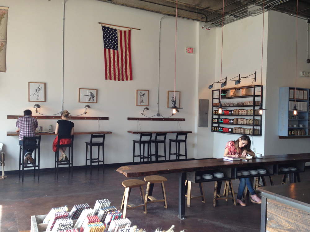 Barista Parlour with Holler Design's Fixtures + Furnishings.