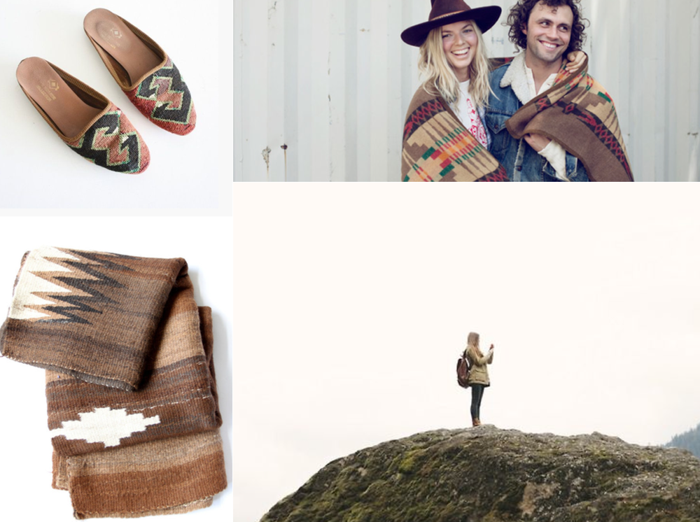 Currently: Some Kilim Slip-Ons via Etsy, an imogene + willie campaign from awhile back, the tumblrs of 1924us and Handcrafted in Virgina.
