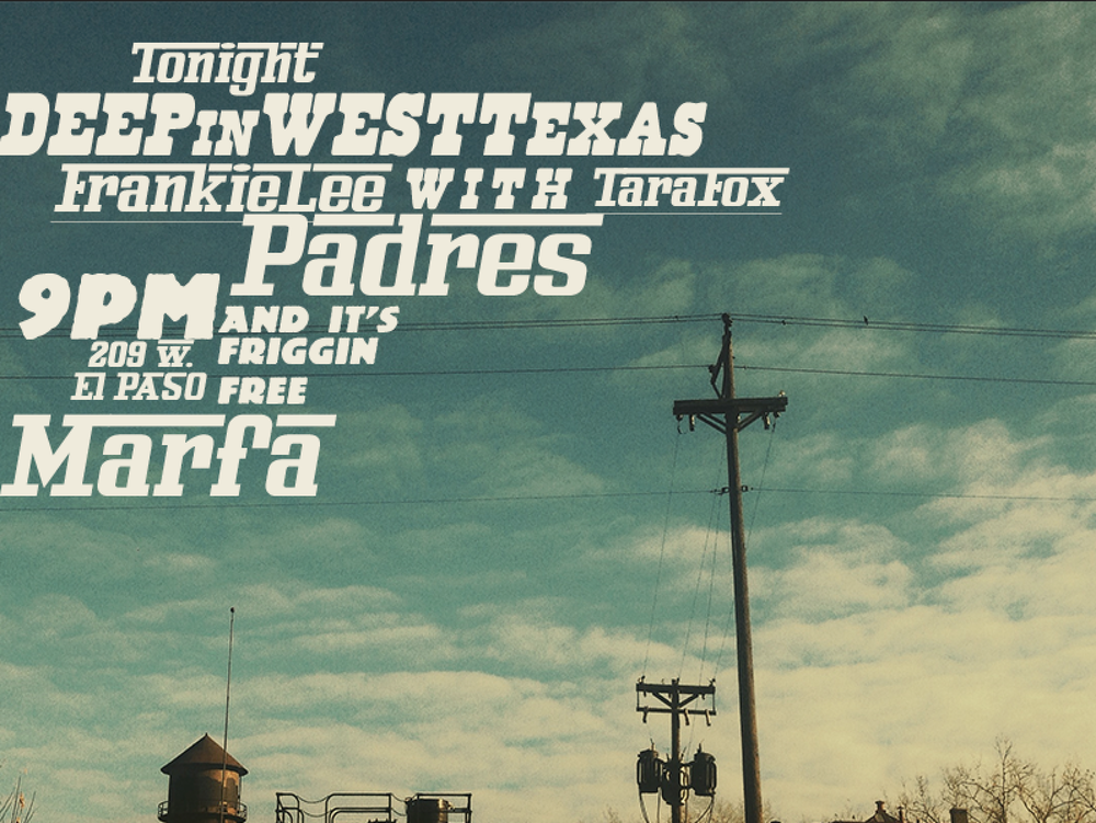 padres marfa on december 14th