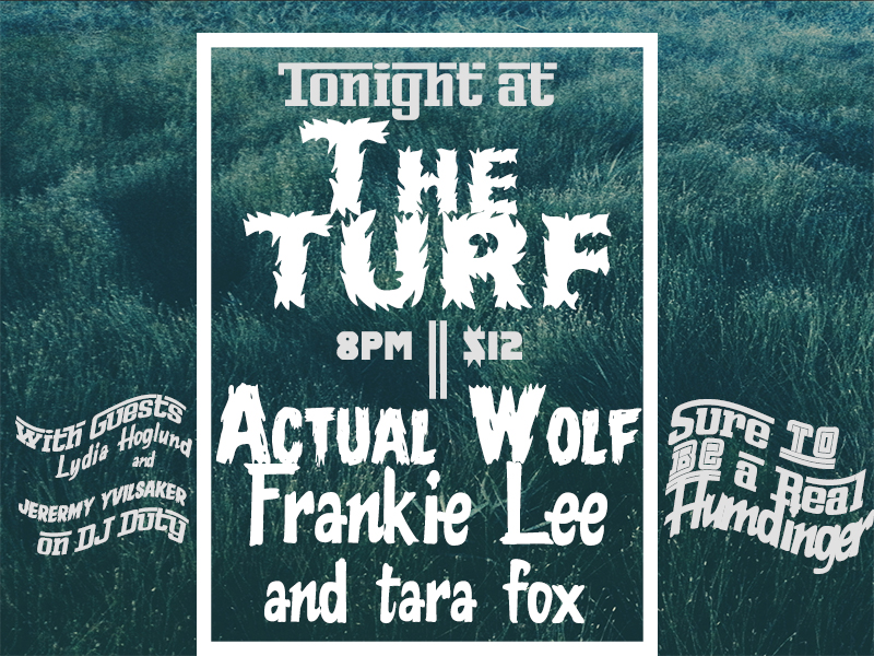 Tonight at the Turf