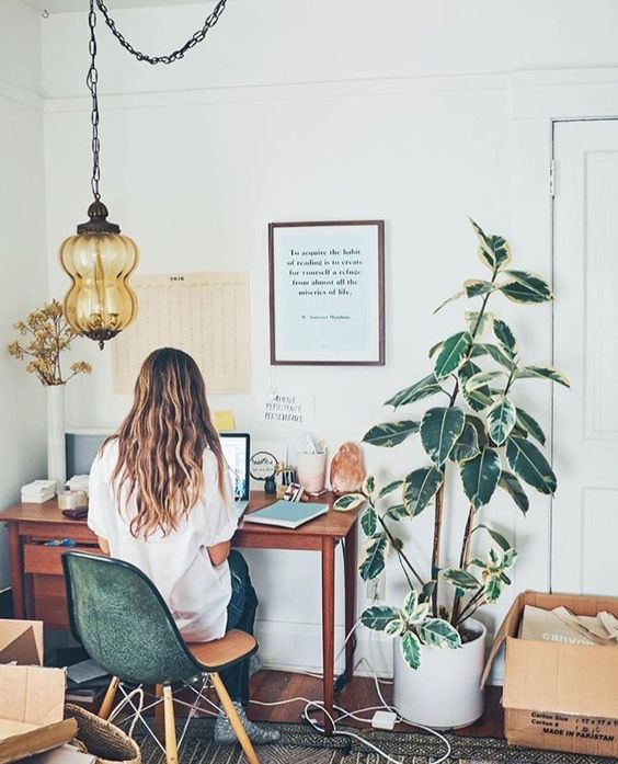 I'm an introverted empath… - And my favorite part of work is actually other people.