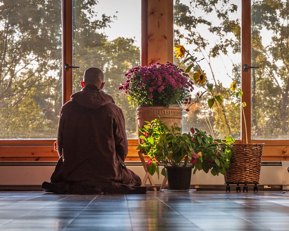 """As you grow in mindfulness, you reclaim your life."" - - Thich Nhat Hanh, Excerpted from 'At Home in the World,' 2016"