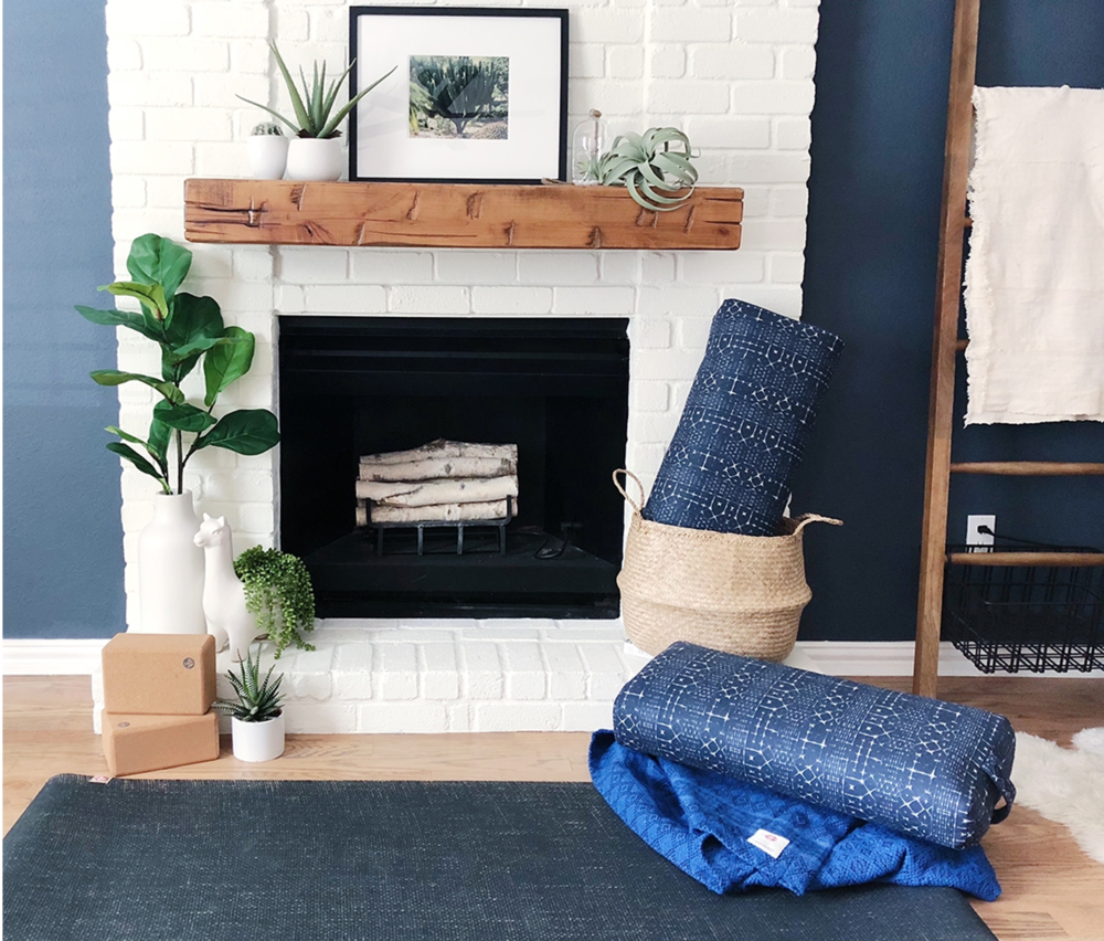 Never Put Your Practice Away - Coordinating bolsters, blankets, mats, and blocks comprise this beautiful first home-practice collection from Manduka.