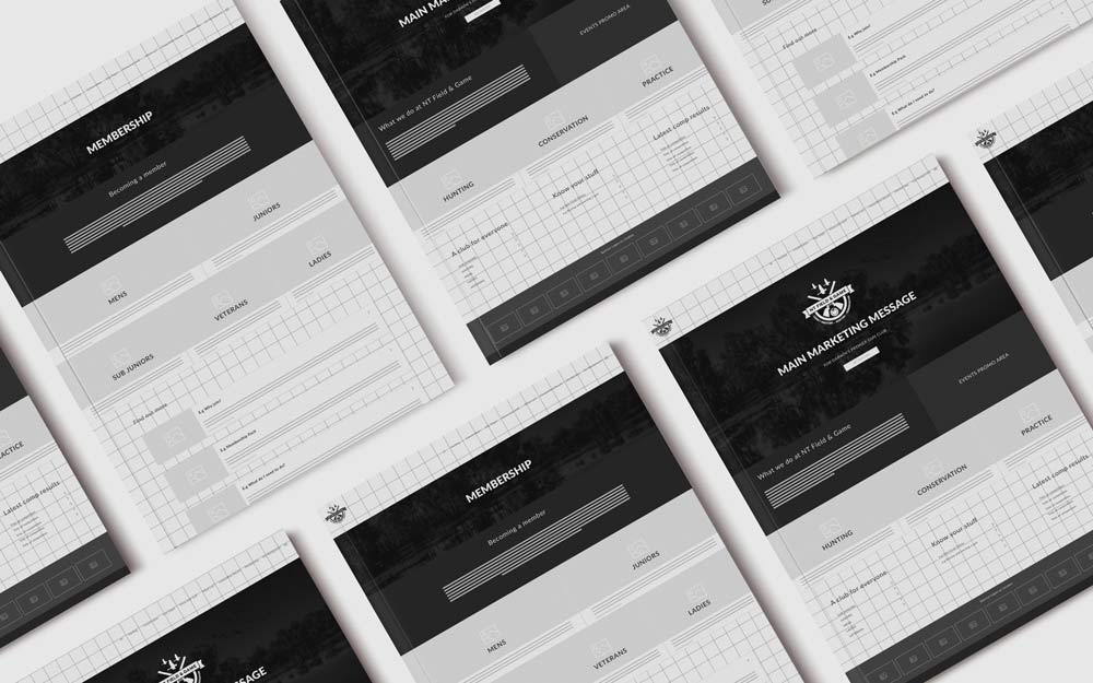 WIREFRAMING KEY PAGES AND USER JOURNEYS