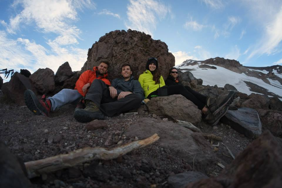 The Crew, Cascade Creek, Mt Shasta 2015