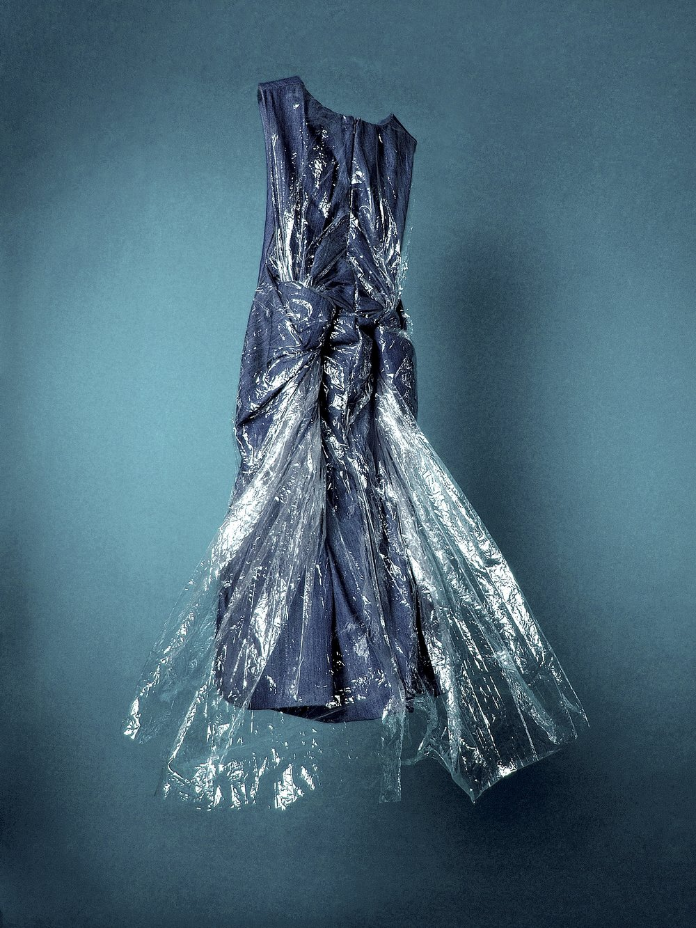 Encapsulated Denim Dress  London 2008