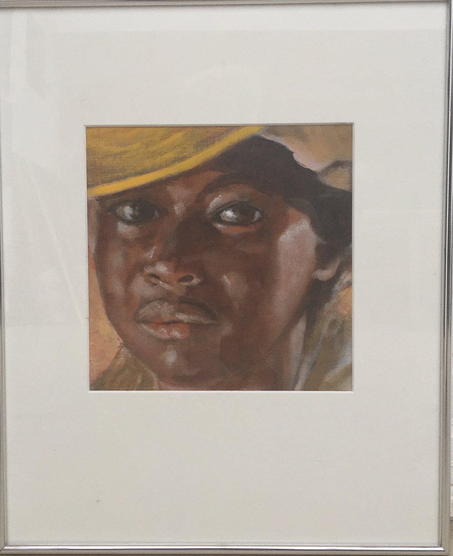 Meisje met gele hoed (prijs: € 250)