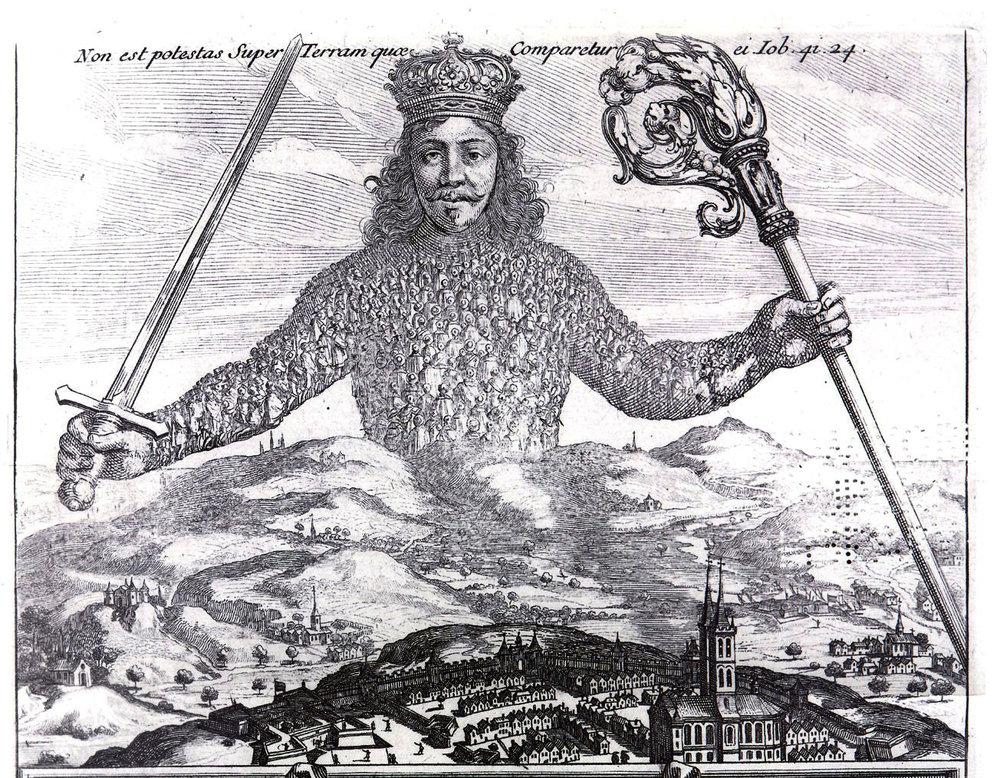 Líkami einvaldsins, Levíatan, the body politic