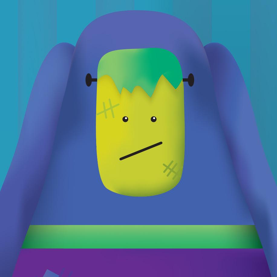 Character Illustration | Farting Frank