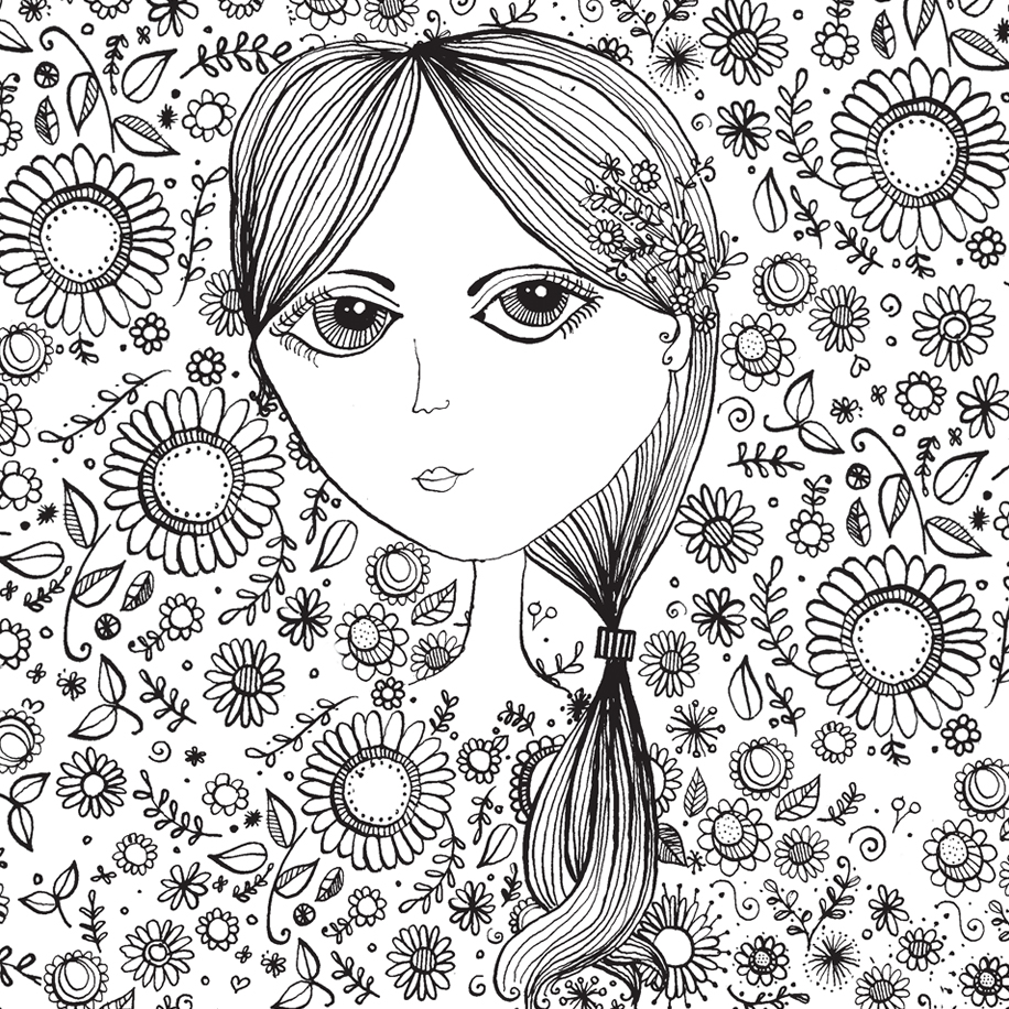 Pen and Ink Illustration | Maggie