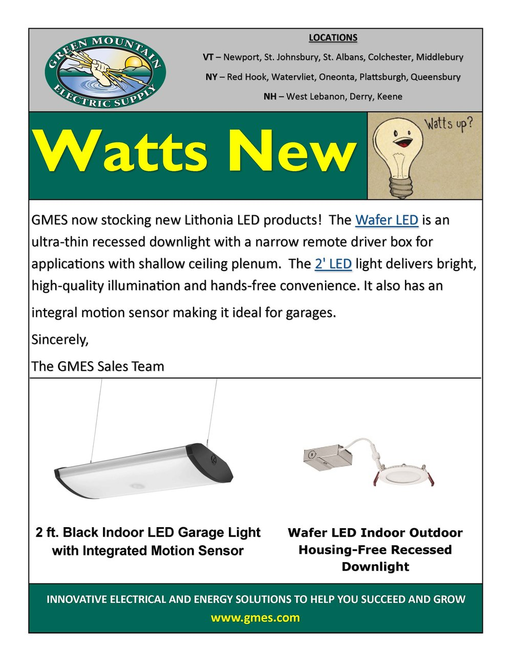 News Gmes Nys Residential Wiring Code New Lithonia Led Products