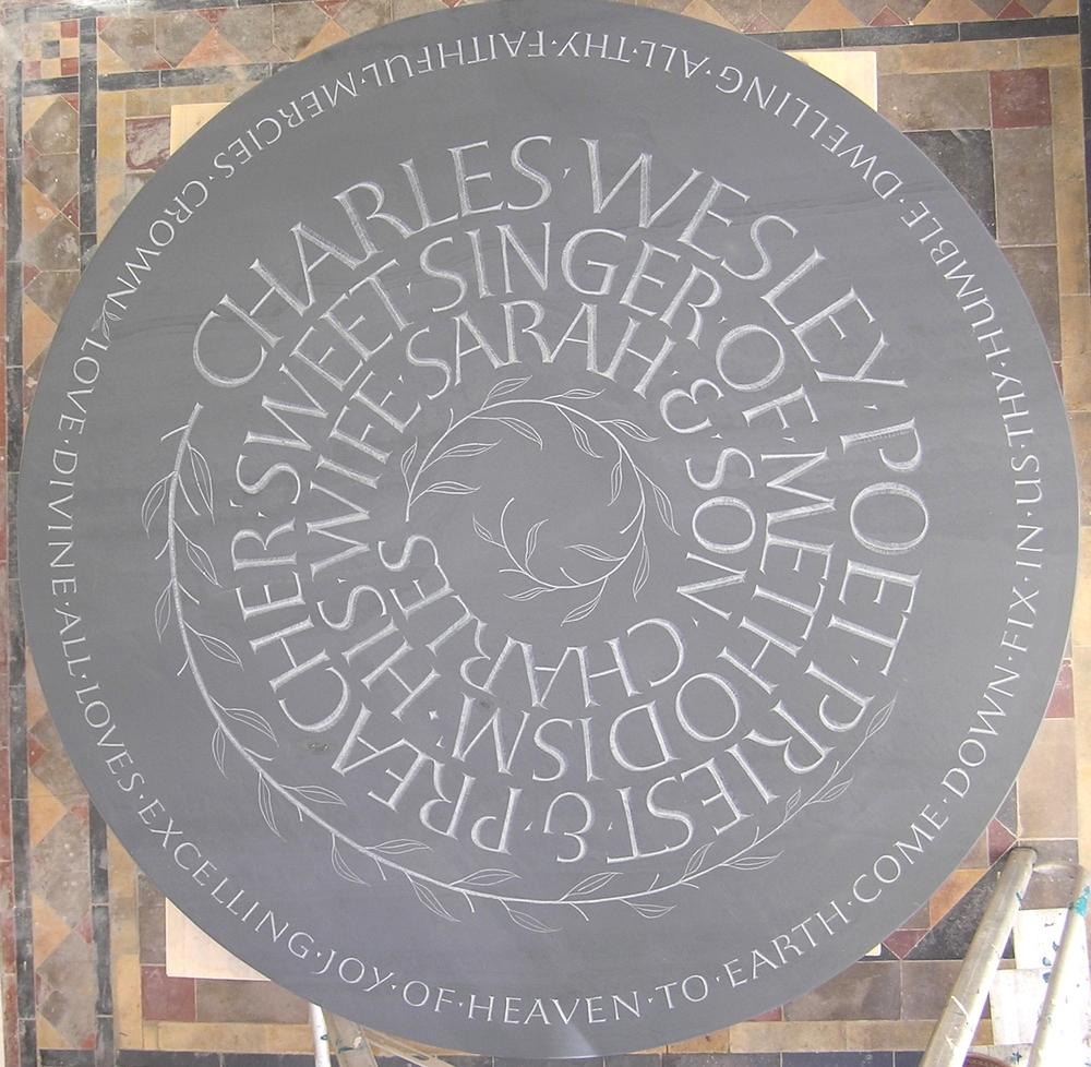 Slate memorial
