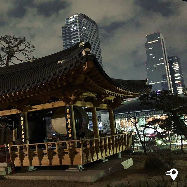 Bongeunsa Temple In Gangnam-gu Seoul - tradition, peace and tranquility in the centre of a lively, bustling modern city! #traveling #imabouts #seoul #frequentflyer #southkorea #temple #cabincrew #businesstrip #businesstraveller #businesstravel