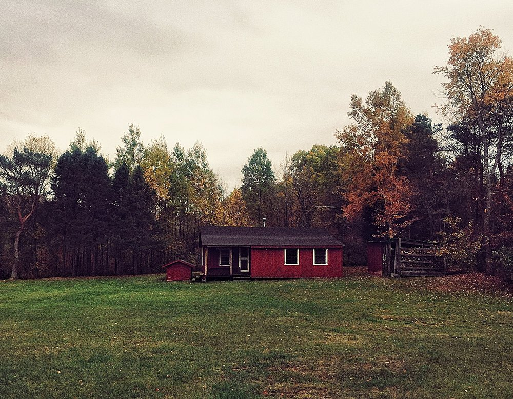 The Doll House in Owls Head, N.Y., one of the many cabins where Richard Matt and David Sweat stayed during their time on the run.  (Chelsia Rose Marcius/October 16, 2016)