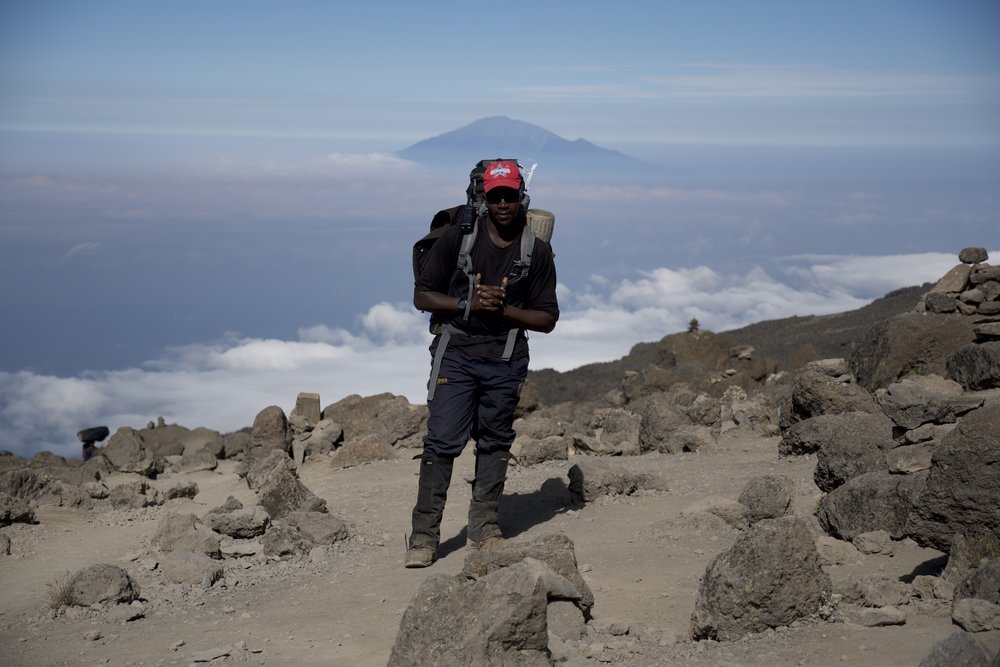 Day 7 / View of Mount Meru