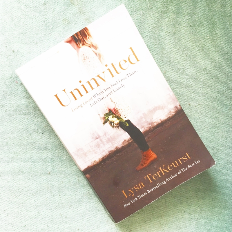 uninvited by lysa terkhurst
