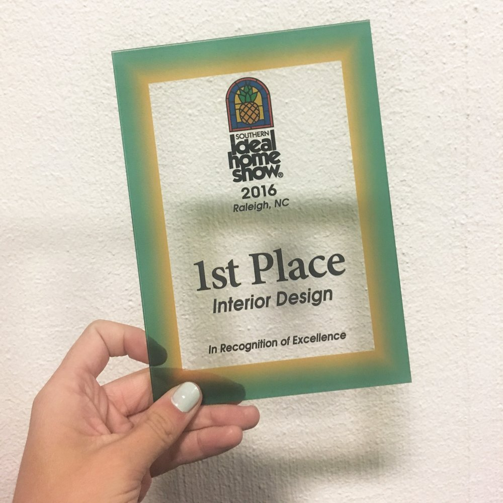 It felt awesome to be recognized for our hard work! And we're looking forward to working with the clients we connected with that weekend too.