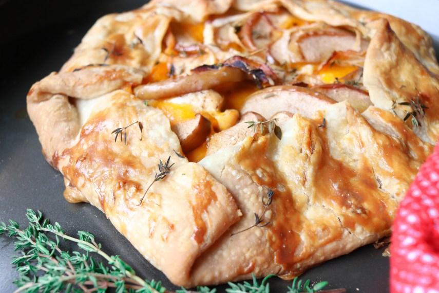 rosalynn daniels apple galette recipe