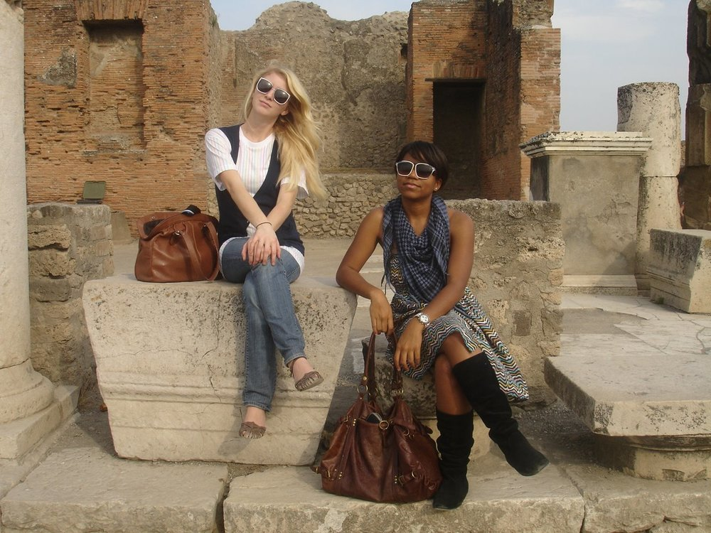 I thought I was so cool in Pompeii back in 2008. See the rest of my Italian  adventures here.