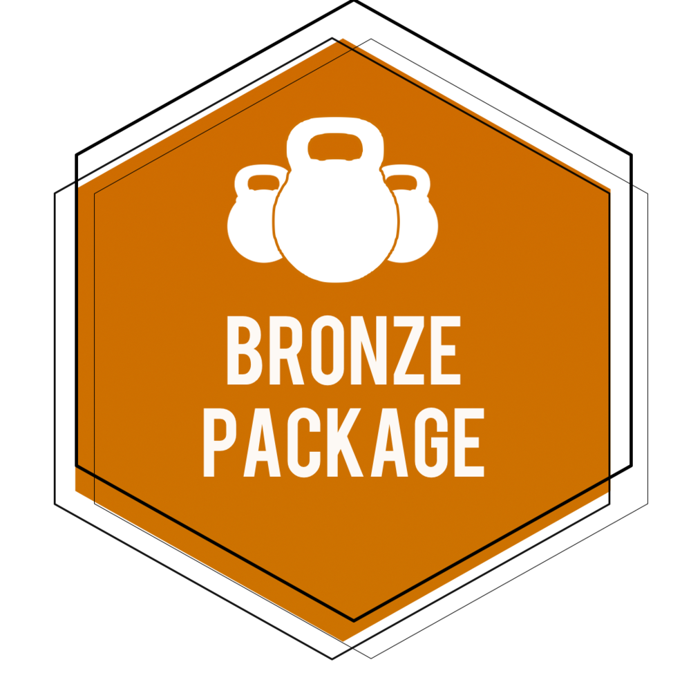 $129  - *$1.50 A DayOnline Personal Training Bronze Package Includes: •12 Week Training Plan for your fitness goals•Nutrition Guidance Adjusted to Your Caloric Requirements•Unlimited In-App Support From John •Access to My Training App and Exercise Library