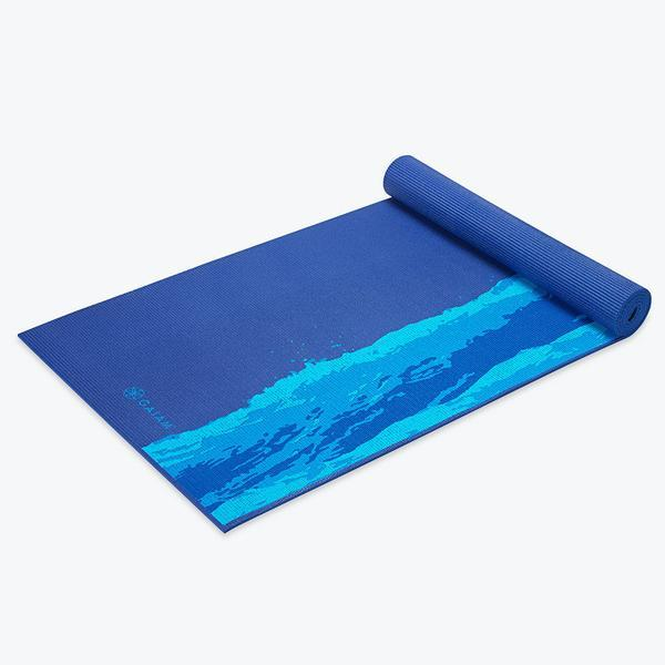 Gaiam Oceanscape Yoga Mat - Health Alchemist Training Shop