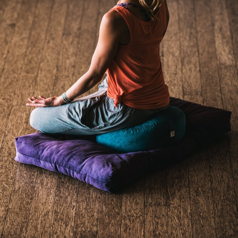 Gaiam Zafu Meditation Cushion - Health Alchemist Training Shop