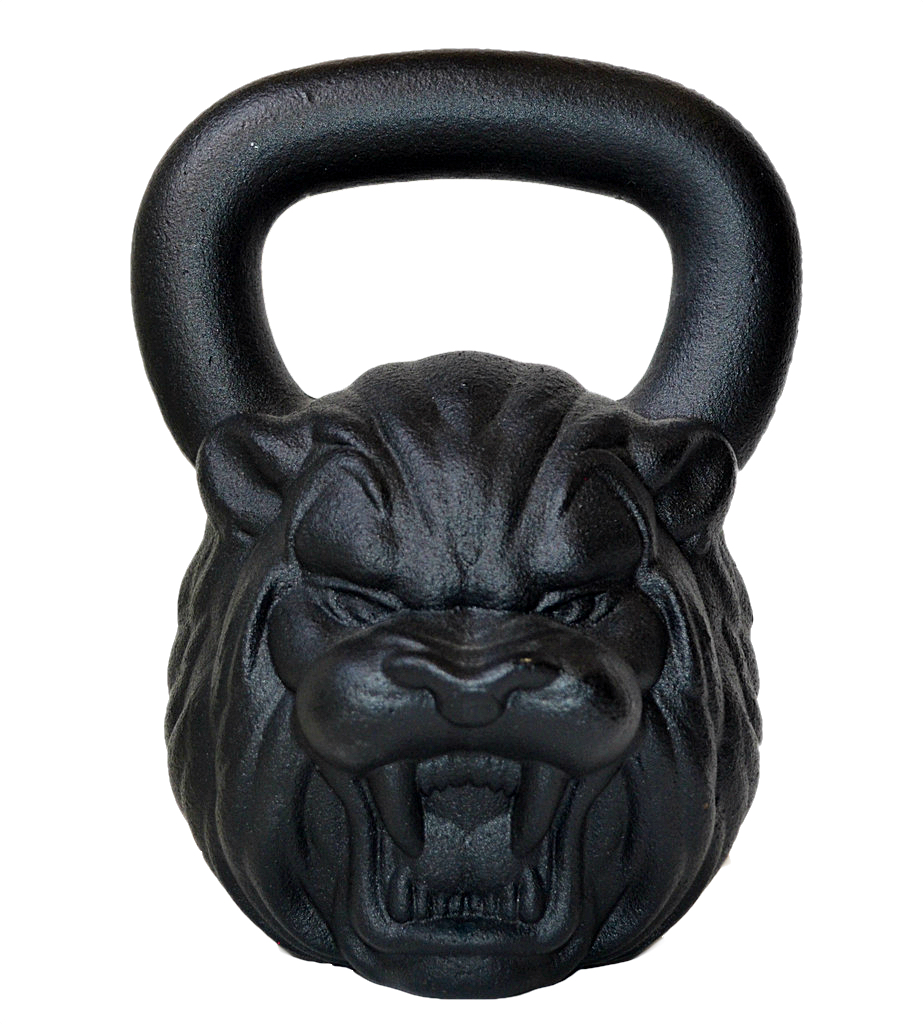 Kettlebell Kings Lion Face 24KG Kettlebell - Health Alchemist Training Shop