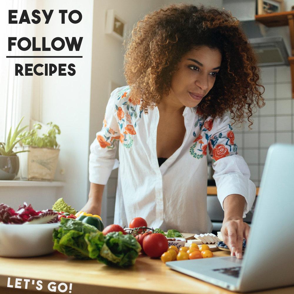 Easy-to-Follow-Recipes- Health-Alchemist-Training