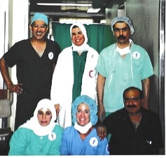 The original surgical team in 2000.
