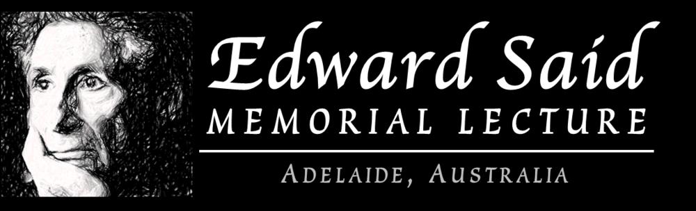 Edward Said Memorial Lecture