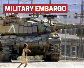 - Palestinian civil society renews calls for a military embargo on Israel