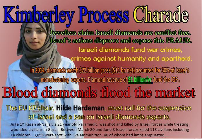 EU urged to end trade in Israel blood diamonds — Australian Friends