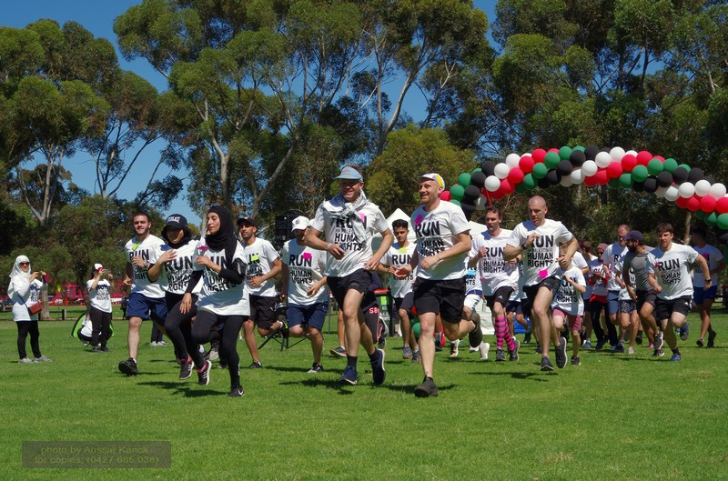 2018 Run For Palestine - Adelaide