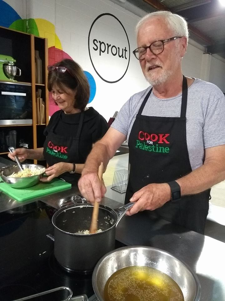 Palestinian Cooking Course, February 2018