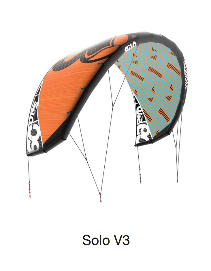 - SOLO V3 TAILLES 3.5 - 5 - 7 - 9 - 12 - 15.5 - 17.5SOLO V3Raffiné et évolué englobent la polyvalence du Solo V3.Un nouveau profil de canopée de bord d'attaque au bord de fuite met en évidence les changements affinés dans le Solo V3 qui apporte la maturité à l'aile.Cette amélioration de la conception du profil réduit le flutter dans les zones critiques de l'extrémité de l'aile, augmente la stabilité dans des conditions de vent soufflant et crée une distribution de puissance instantanée et engagée lors de la mise en feuille.La plate-forme simple, le rapport de mi-portée et l'arc d'attaque progressif déplacent la position de vol légèrement en avant dans la fenêtre du vent offrant une puissance à bas régime supérieure faisant du cerf-volant un choix naturel pour les spécialistes du vent léger et les freeriders.L'avantage de la plate-forme à une seule jambe permet au Solo V3 de gérer facilement les conditions de vent difficiles et désordonnées - offrant une dérive exceptionnelle dans les accalmies et un dépower extrême contrôlable en cas de fortes rafales.Une nouvelle approche de la configuration du bridage a créé un amorçage rapide du virage et a aidé à fournir plus de pression dans l'aile pour éclairer rapidement la remise à l'eau.Le contrôle ultime du Solo V3 se termine par un cerf-volant qui traverse toutes les disciplines de freeride et les chasseurs de vent.