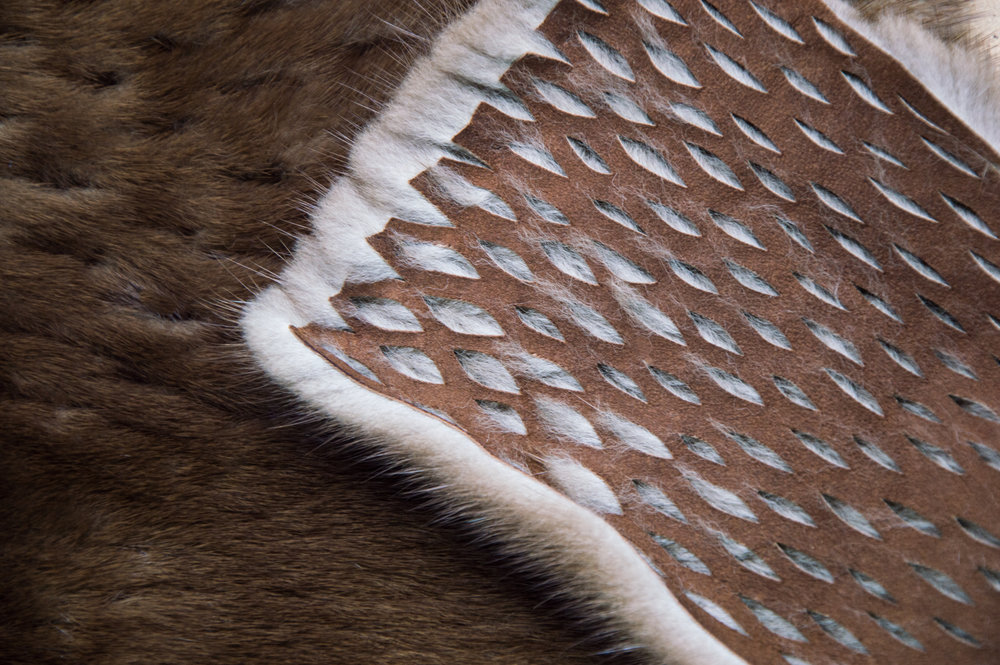 We can suggest the most appropriate ways to work the fur in order to create the desired look for your designs