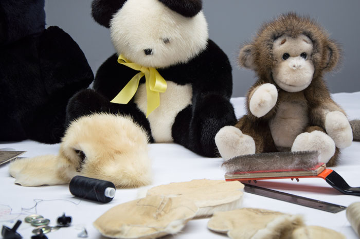We have made a wide range of bespoke toys, we can make them from any type of fur, even offcuts from your alterations