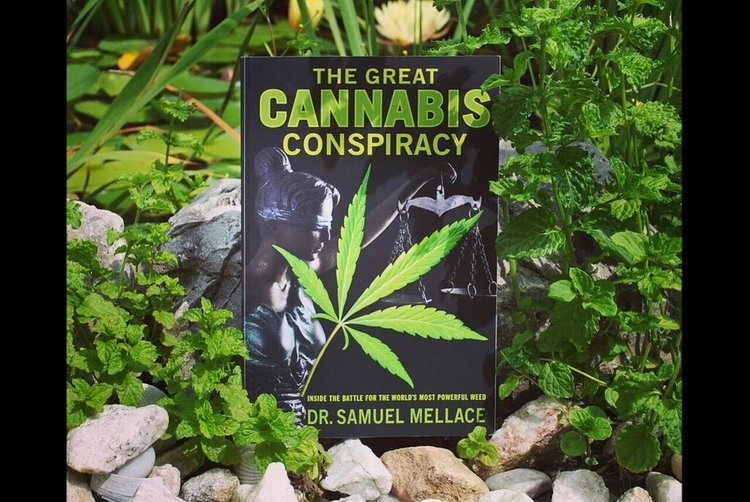"Sam's book, "" The Great Cannabis Conspiracy ,"" is now available for pre-order!"