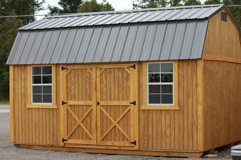 side lofted pressure treated barn metal roof.JPG