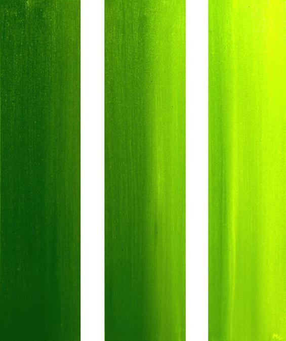 'Green' triptych